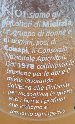 Miele Italiano di coriandolo - Ingrediënten - it