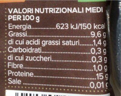 Tofu al naturale - Informazioni nutrizionali - it