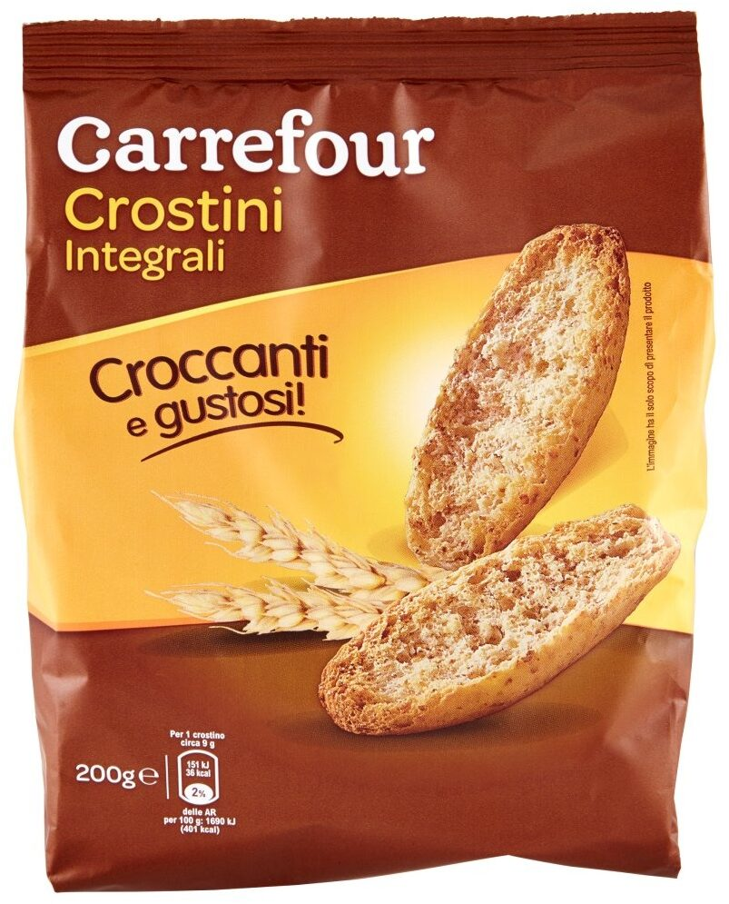 Crostini integrali - Product - it