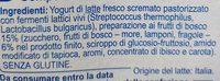 Yogurt con Frutti di Bosco magro - Ingredienti