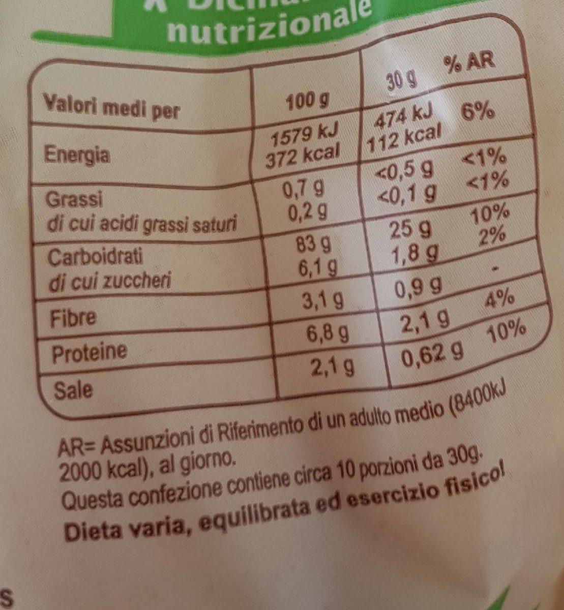 Carrefour Bio Corn Flakes - Voedigswaarden