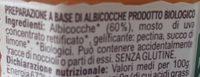Cuor di albicocca - Ingrediënten - it