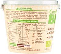 Carrefour Bio Yogurt Magro Amarena e Ciliegia in Pezzi - Ingredients - it