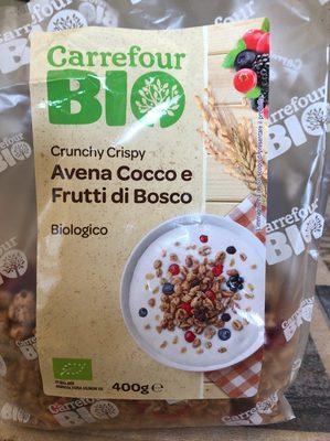 Crunchy Crispy Avena Cocco e Frutti di bosco - Product - it