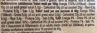 Crunchy Crispy Avena Cocco e Frutti di bosco - Nutrition facts - it