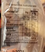 Parmigiano reggiano d o p - Valori nutrizionali - fr