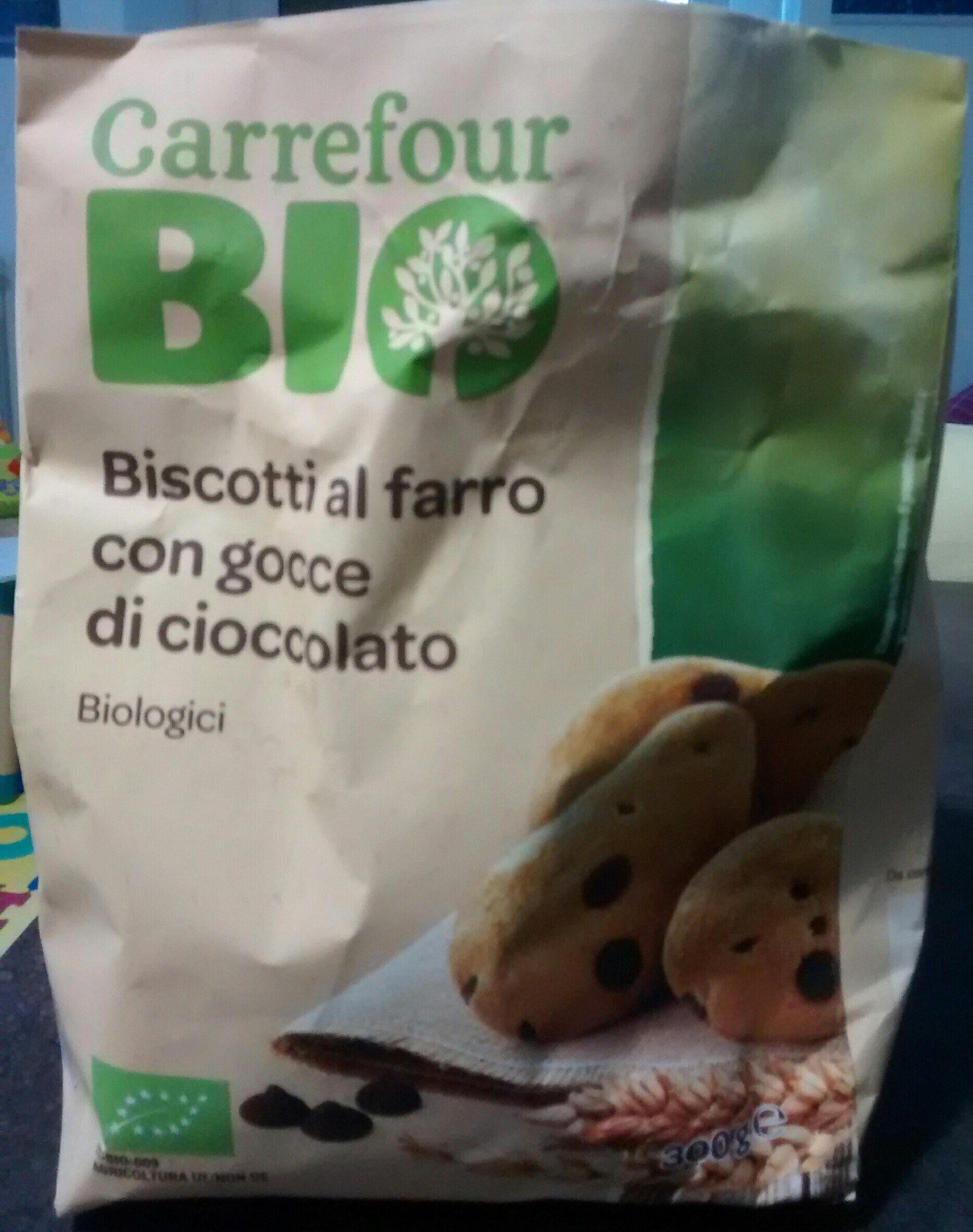 Biscotto al farro con gocce di cioccolato - Product - it