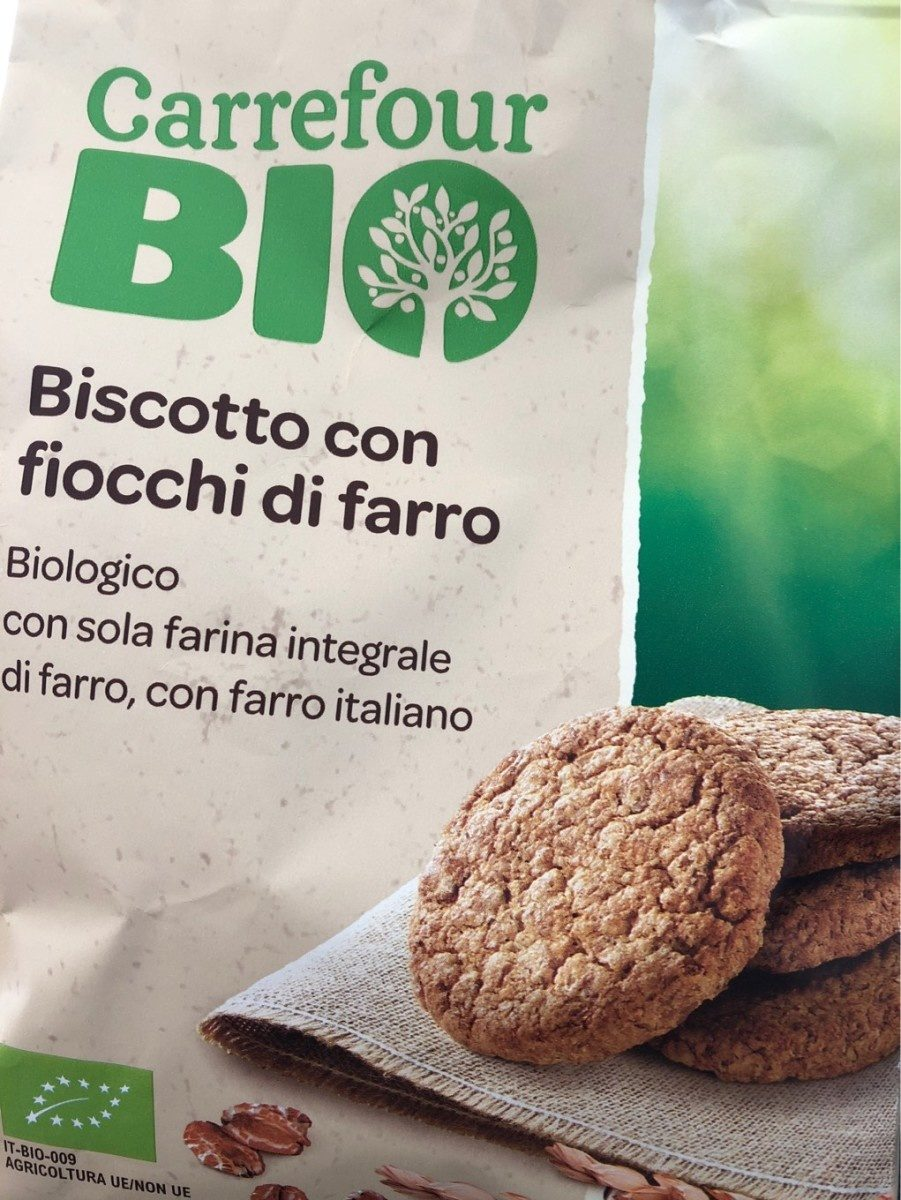 Biscotto con fiocchi di farro - Produit - fr