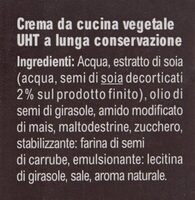 Crema da Cucina - Ingredients - it