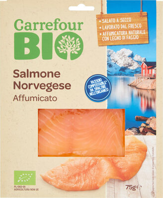 Salmone norvegese affumicato - Prodotto - fr