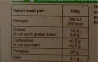Salmone norvegese affumicato - Valori nutrizionali - fr
