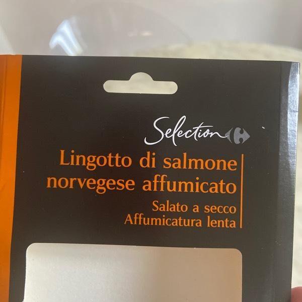 Lingotto di salmone norvegese affumicato - Prodotto - en