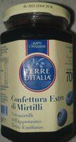 Confettura extra di mirtilli - Prodotto - it