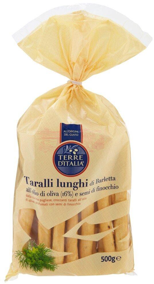 Terre D'italia Olive Oil Breadsticks - Produit