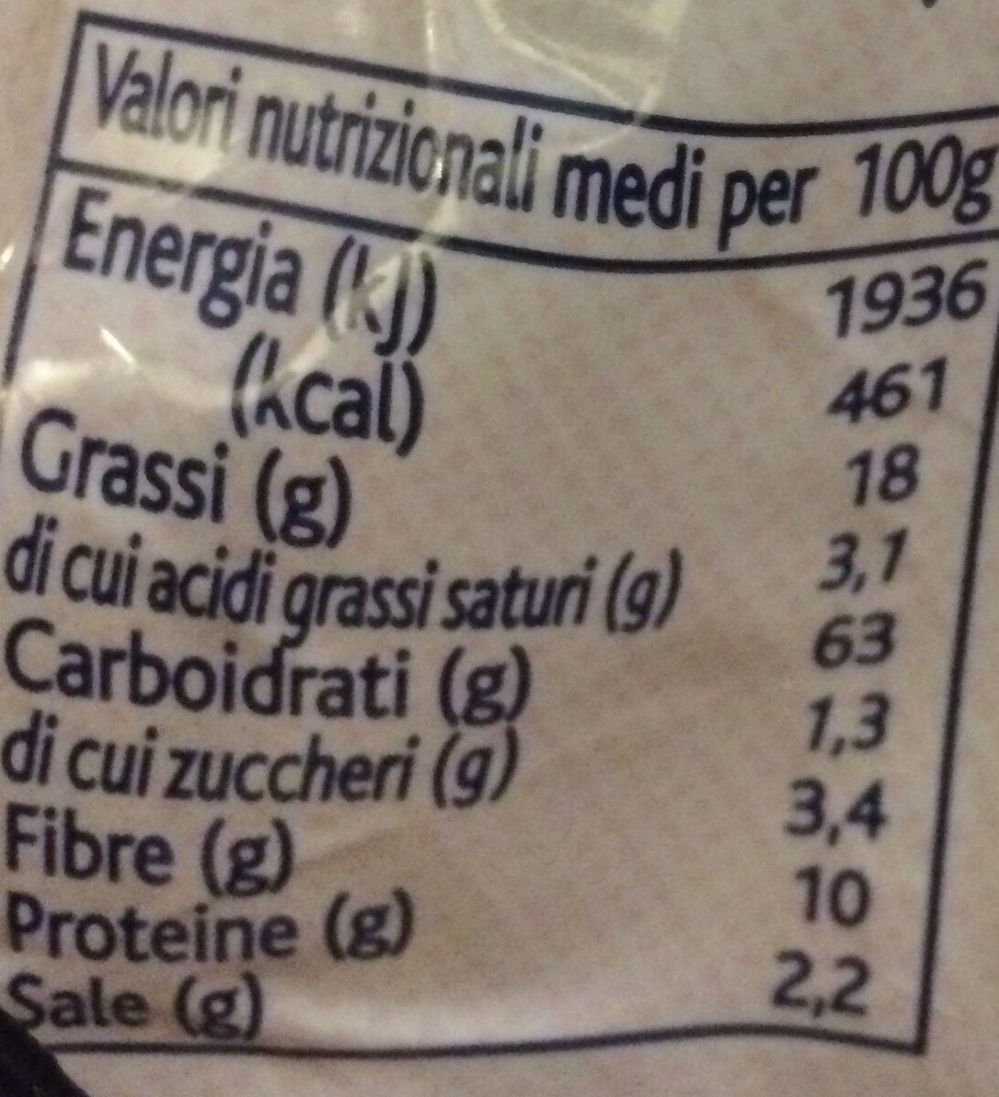 Terre D'italia Olive Oil Breadsticks - Ingrédients