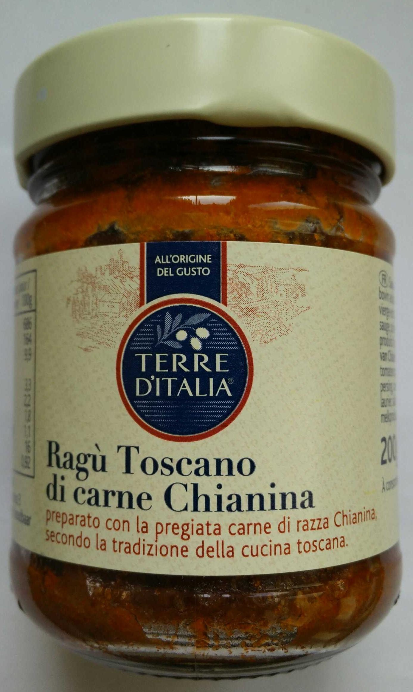 Ragù Toscano di carne Chianina - Produit