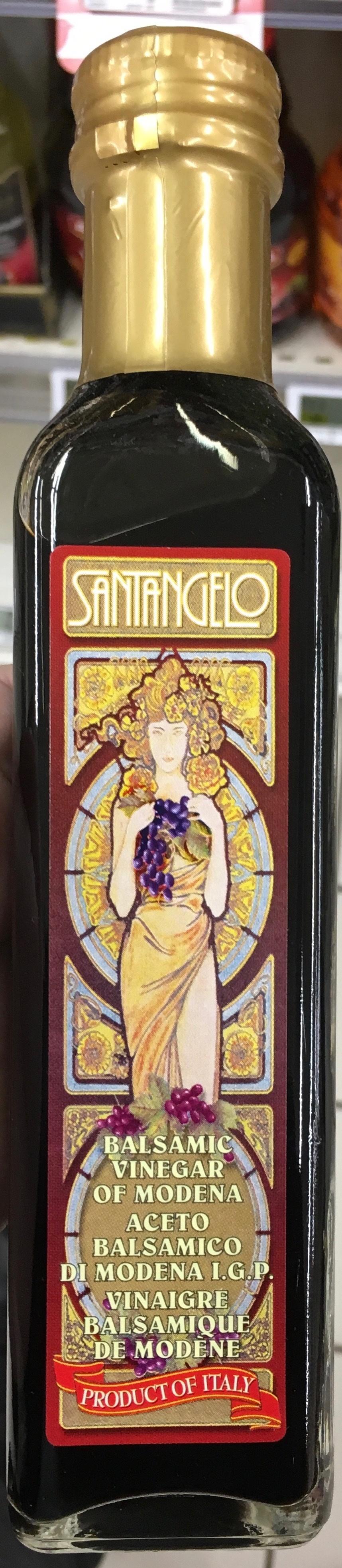 Vinaigre balsamique de mod ne acidit 6 santangelo 250 ml - Vinaigre balsamique calorie ...