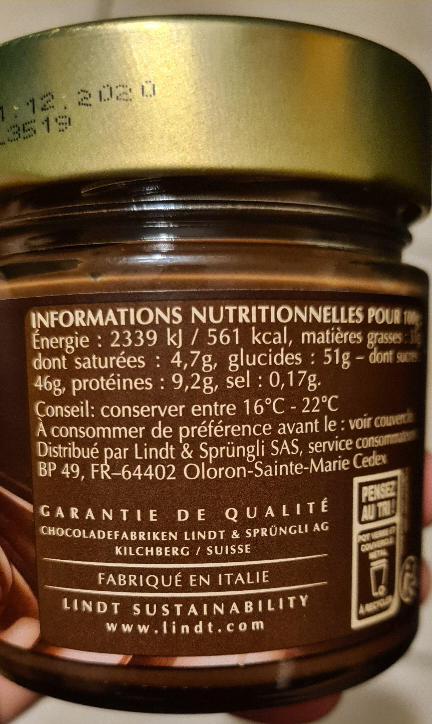 Pate à tartiner 25% de noisettes - Product - fr