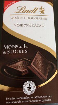 Noir 75% cacao - Produkt - fr