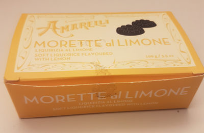 Morette al limone - Produit
