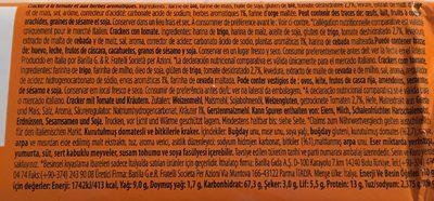 Crackers Pomodoro GR280 Pavesi - Ingredients