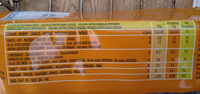 Crackers Pomodoro GR280 Pavesi - Nutrition facts