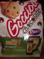 Gocciole chocolate Pavesi - Product
