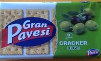 Gran Pavesi Cracker Olive - Product - fr