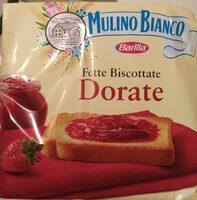 Fette biscottate dorate - Prodotto - it