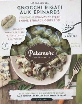 Gnocchi rigati aux epinards - Product