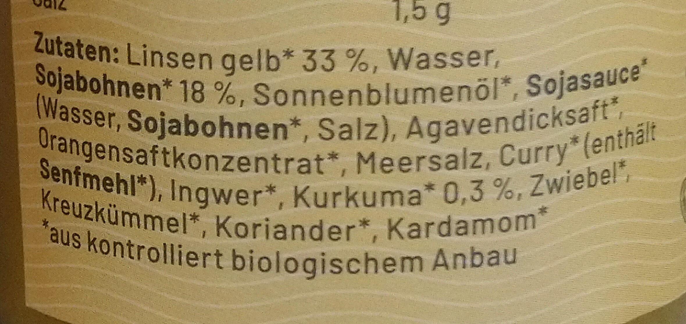 Powerlinse Protein Aufstrich - Ingredients - de