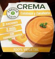 Crema De Calabaza Y Zanahoria - Produit
