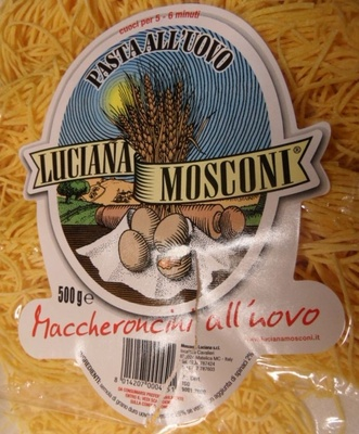 Pasta all'uovo - Luciana Mosconi - Ingrediënten