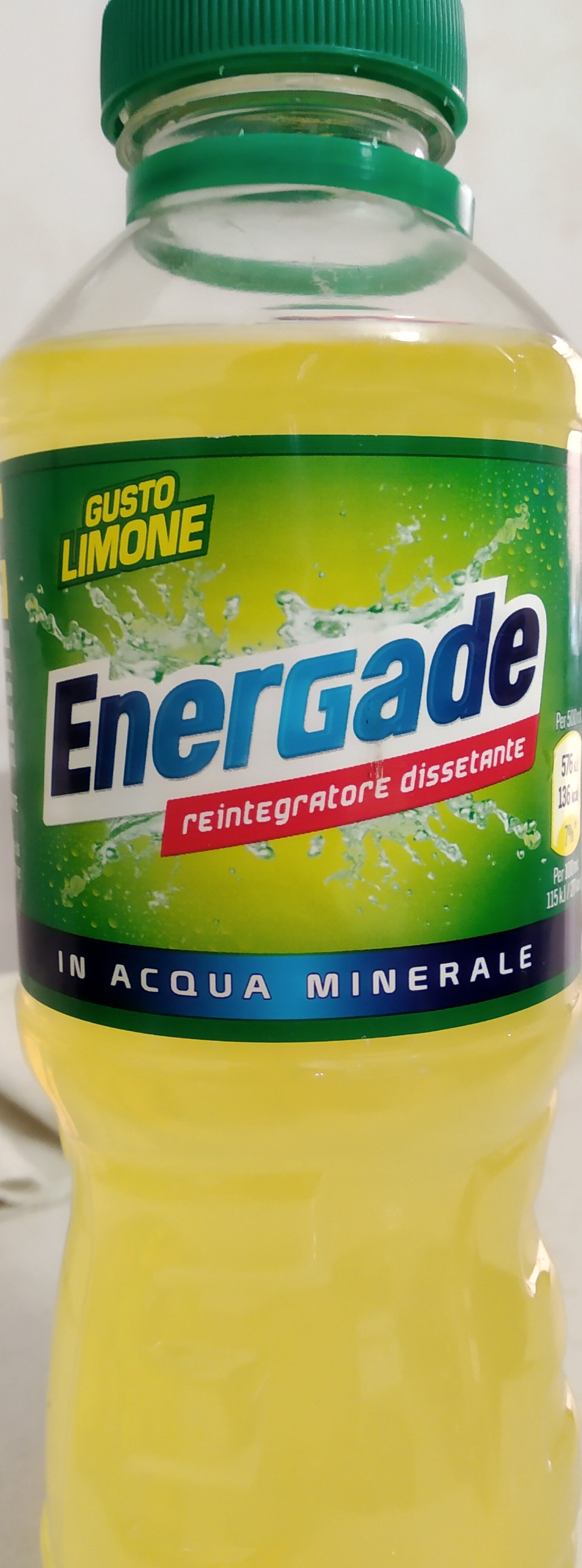 Energade limone - Producto