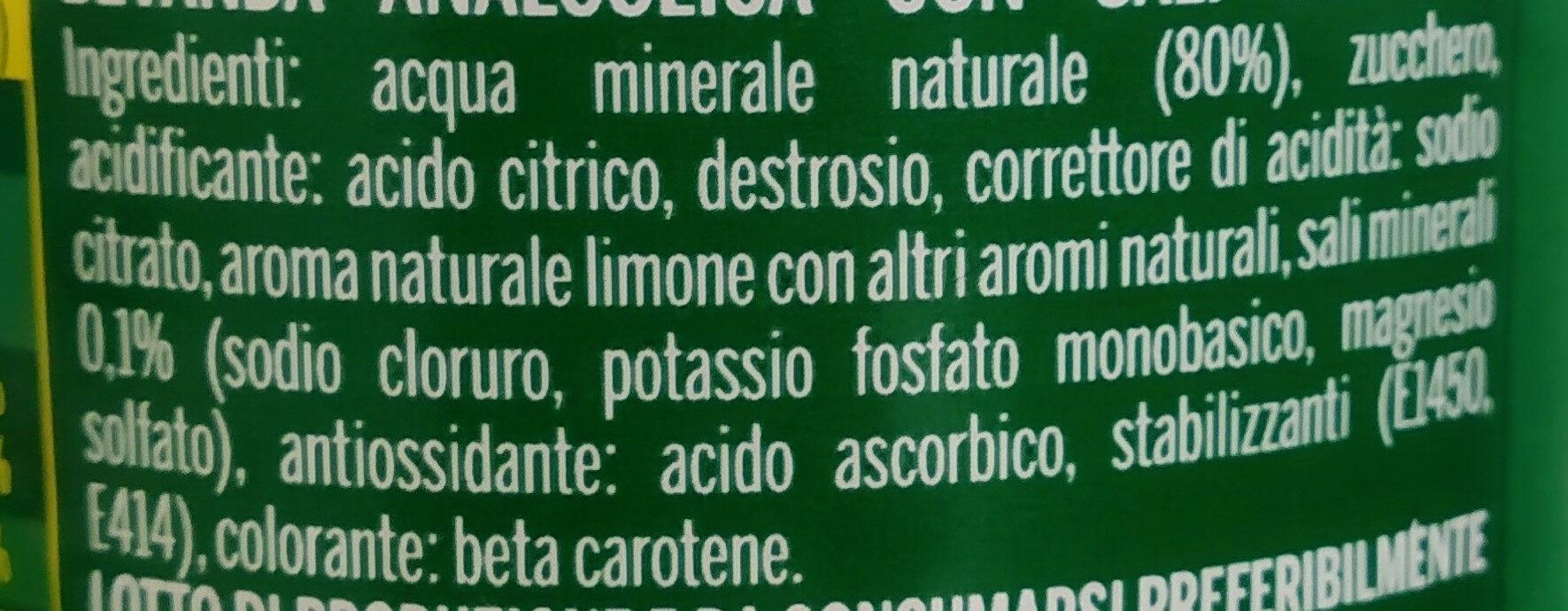 Energade - Ingredientes - it