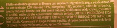 Limone pet - Ingredienti - it