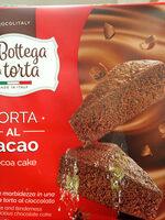 Torta al cacao cocoa cake - Produit - es