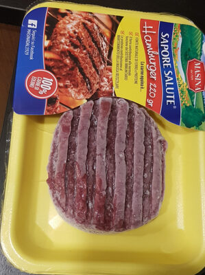 Sapore salute hamburge di equino - Product - it