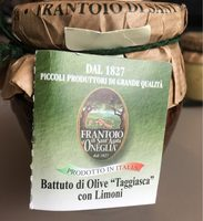 """Battuto di olive """"taggiasca"""" con limoni - Product"""