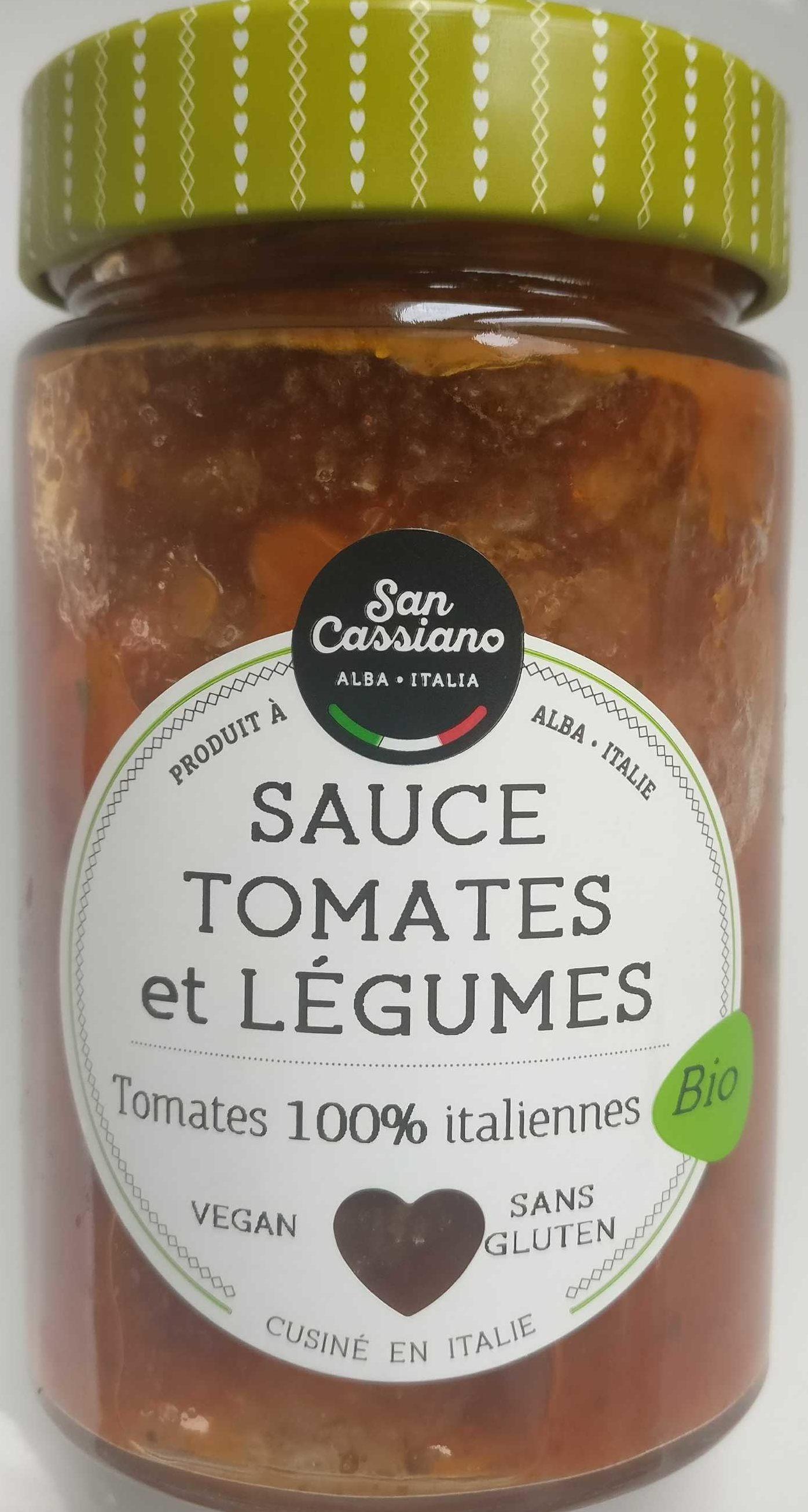 Sauce tomates et légumes - Produit
