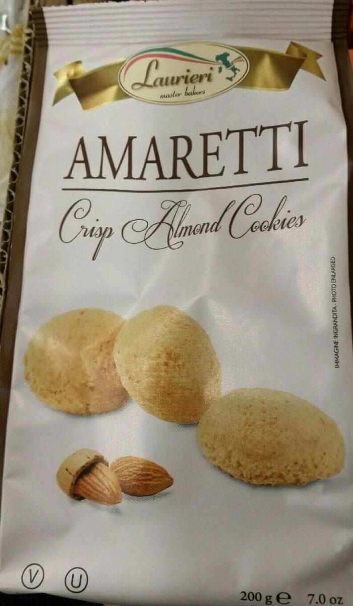 AMARETTI - crisp almond cookies - Product - fr