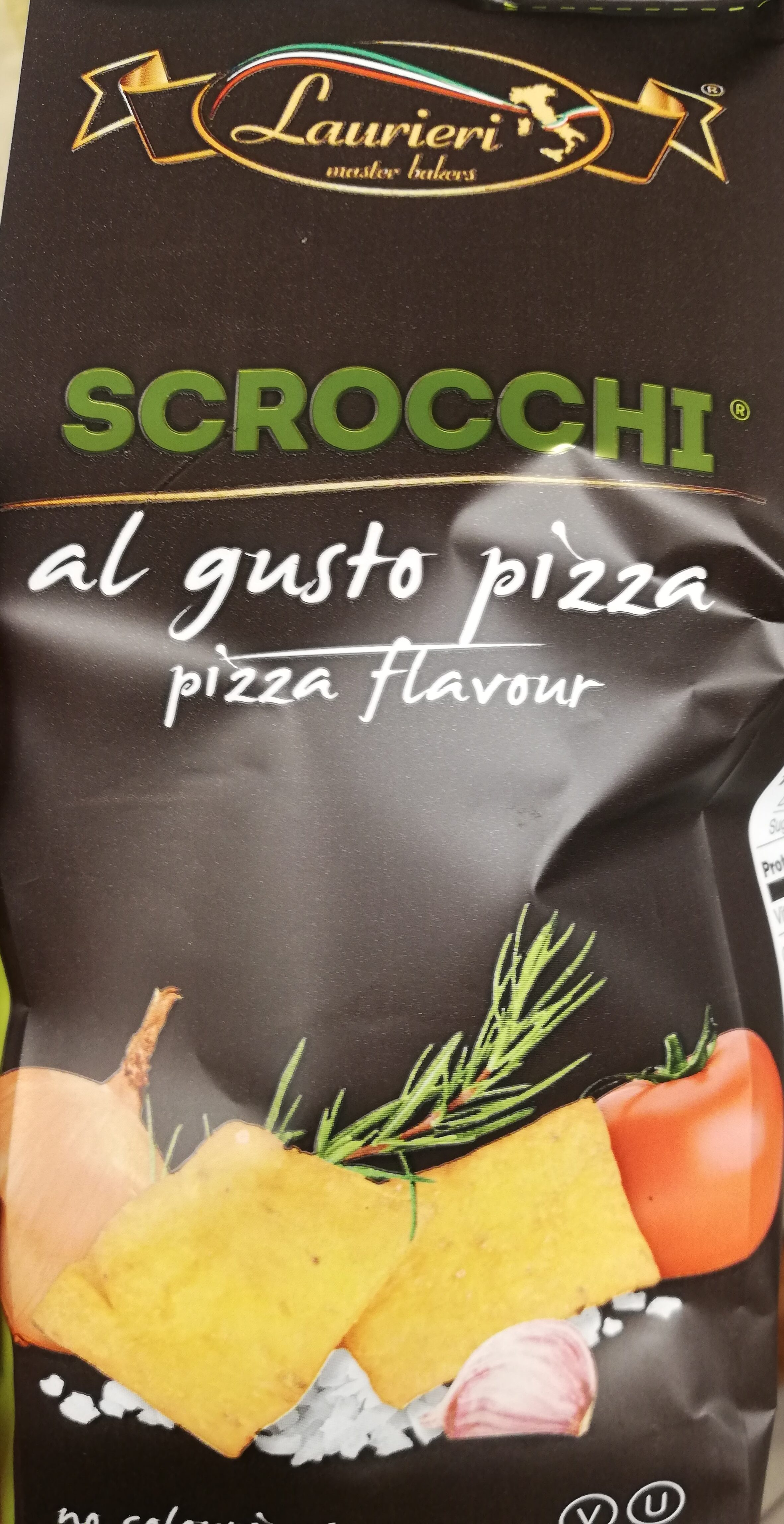 Crackers Pizza Laurieri - Product - fr