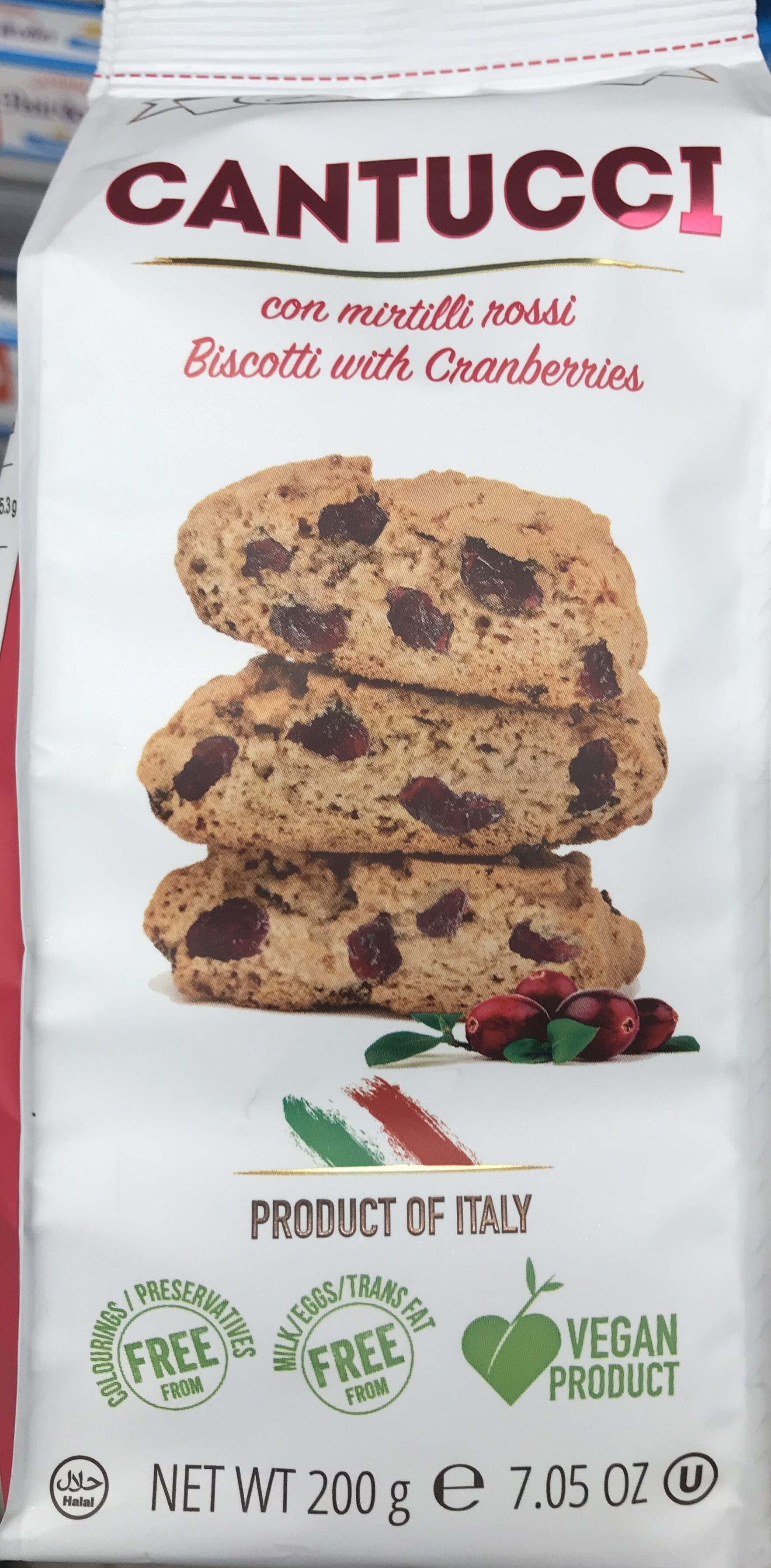 Biscuits aux cranberries - Product - fr