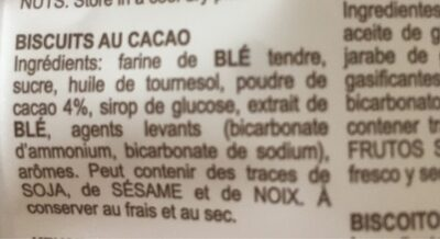 Quadrotti - Ingrediënten - fr