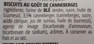 Froletti con mirtilli rossi - Ingrediënten - fr