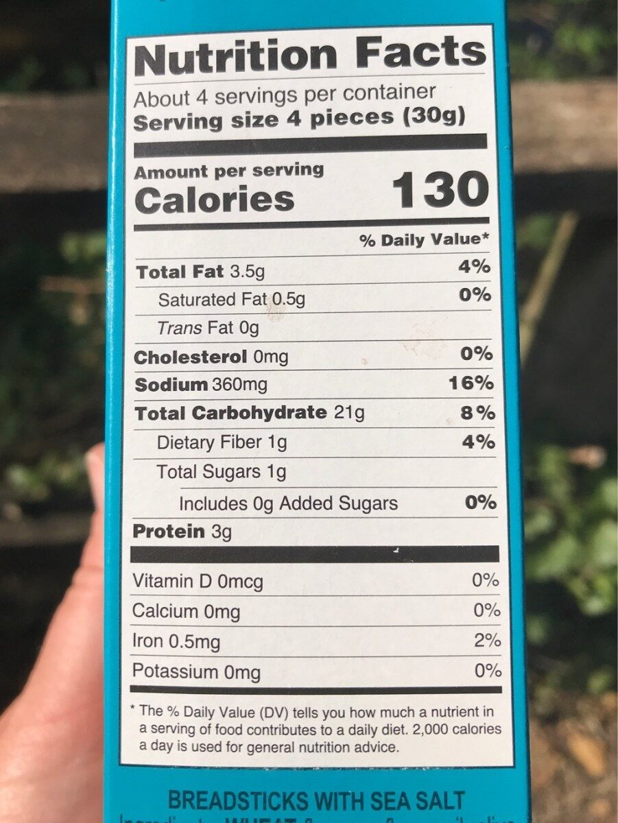 Crespini - Nutrition facts - fr
