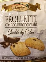 LAURIERI CHOCOLATE CHIP COOKIES - Product - fr