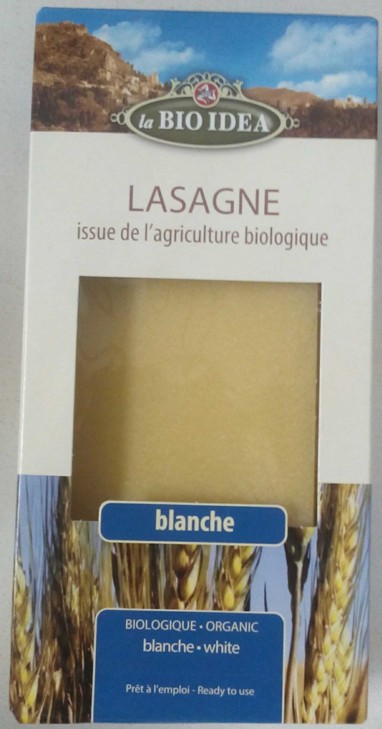 Lasagne blanche - Product - fr