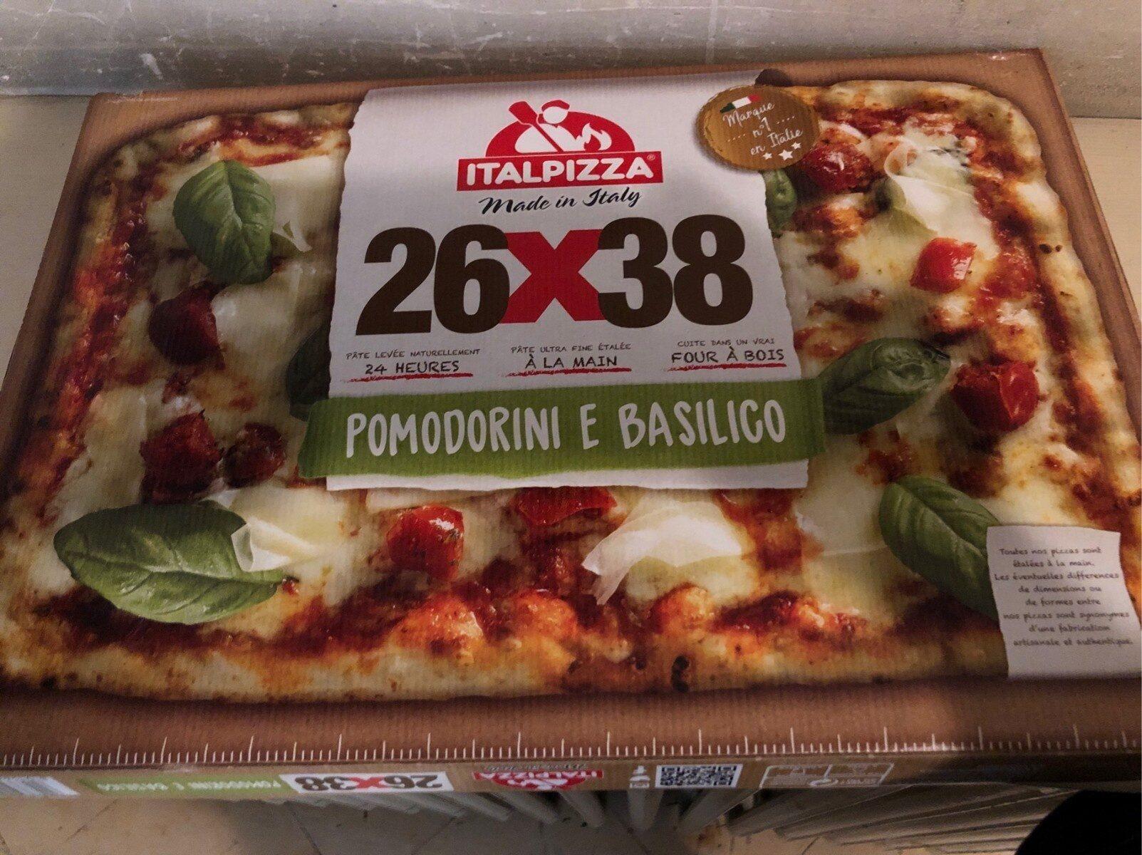 Pizza Pomodorini e basilico - Produit - fr