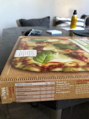 Pizza Pomodorini e basilico - Informations nutritionnelles - fr